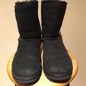Ugg classic shirt boots